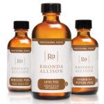 Peelingui chemiczne Rhonda Allison